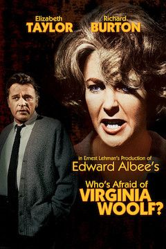 Who's Afraid of Virginia Woolf? movie poster.