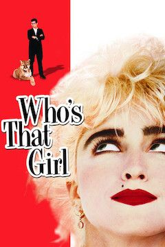 Who's That Girl movie poster.