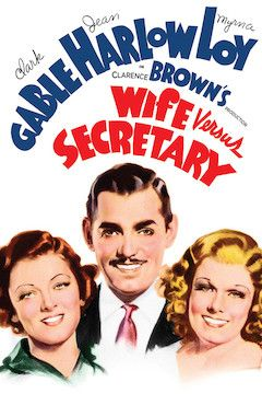 Wife Versus Secretary movie poster.