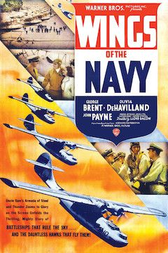 Wings of the Navy movie poster.