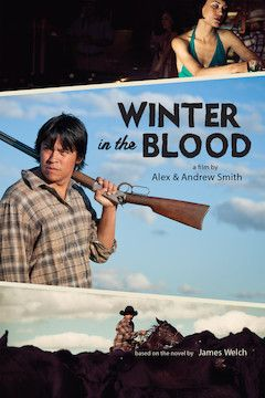 Winter in the Blood movie poster.