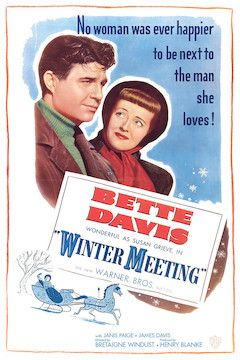 Winter Meeting movie poster.