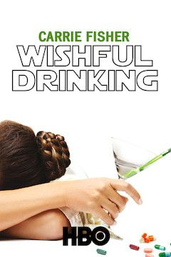 Wishful Drinking movie poster.