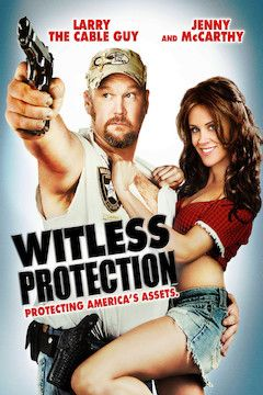 Witless Protection movie poster.