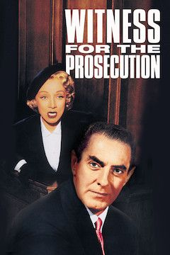 Poster for the movie Witness for the Prosecution