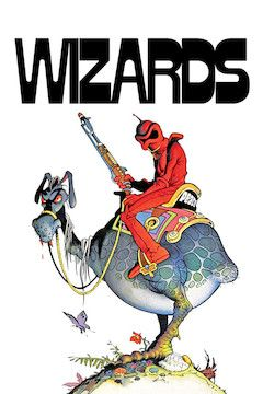 Wizards movie poster.