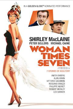 Woman Times Seven movie poster.