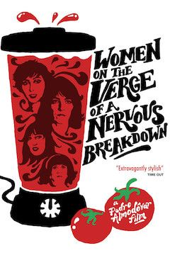 Women on the Verge of a Nervous Breakdown movie poster.