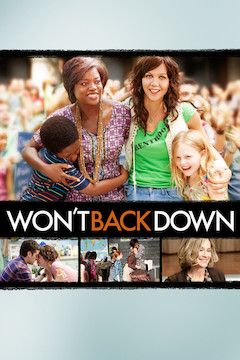 Won't Back Down movie poster.