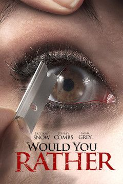 Poster for the movie Would You Rather