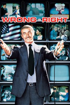 Poster for the movie Wrong Is Right