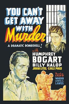 You Can't Get Away With Murder movie poster.