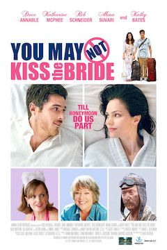 You May Not Kiss the Bride movie poster.