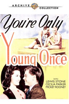 You're Only Young Once movie poster.