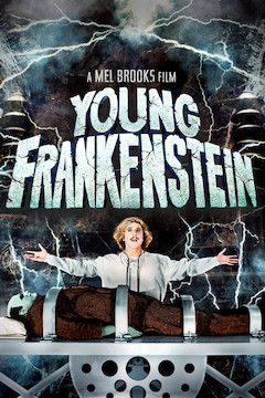 Young Frankenstein movie poster.