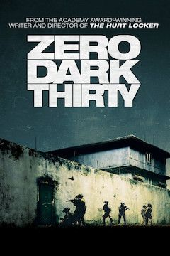 Zero Dark Thirty movie poster.