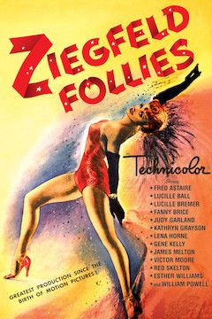Ziegfeld Follies movie poster.
