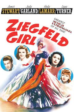 Poster for the movie Ziegfeld Girl