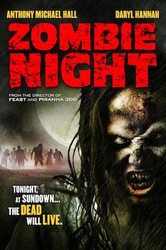 Zombie Night movie poster.