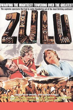 Zulu movie poster.