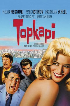 Topkapi movie poster.