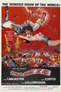 Trapeze movie poster.