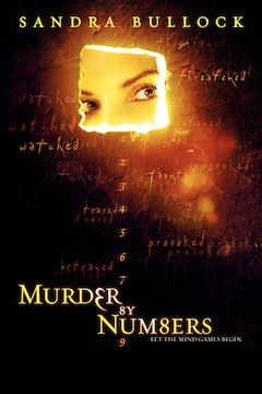 Murder by Numbers movie poster.