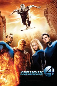 Poster for the movie Fantastic 4: Rise of the Silver Surfer