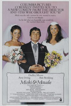 Micki and Maude movie poster.