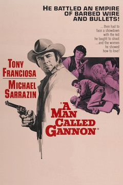 A Man Called Gannon movie poster.