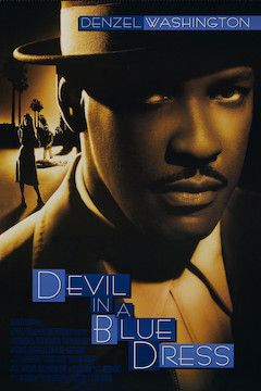 Devil in a Blue Dress movie poster.