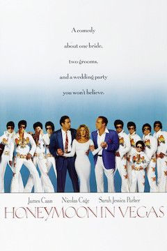 Honeymoon in Vegas movie poster.