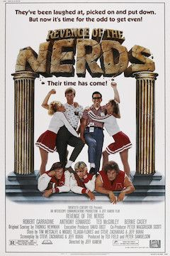 Revenge of the Nerds movie poster.