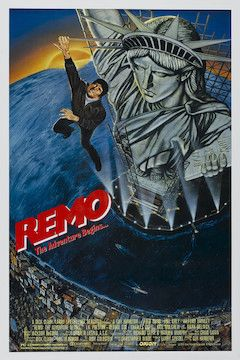 Poster for the movie Remo Williams: The Adventure Begins
