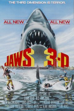 Jaws 3D movie poster.