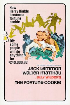 The Fortune Cookie movie poster.