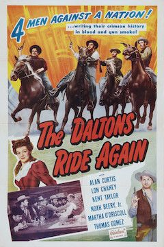 The Daltons Ride Again movie poster.
