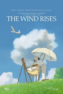 The Wind Rises movie poster.