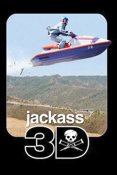 Poster for the movie Jackass 3D