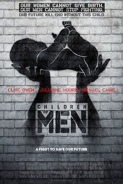 Children of Men movie poster.
