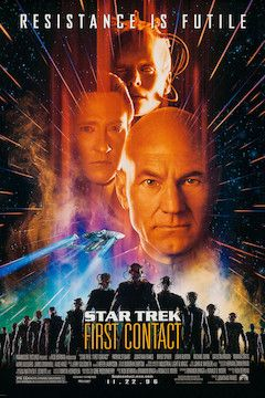 Poster for the movie Star Trek: First Contact