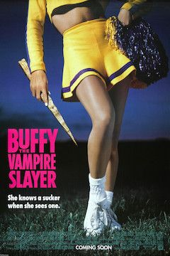 Buffy the Vampire Slayer movie poster.
