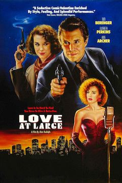 Love at Large movie poster.