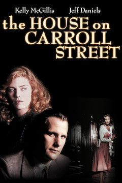 The House on Carroll Street movie poster.