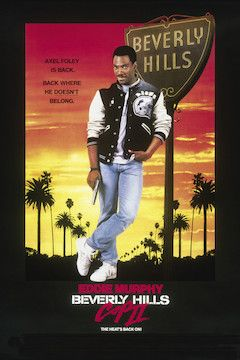 Beverly Hills Cop II movie poster.
