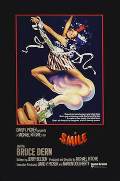 Smile movie poster.