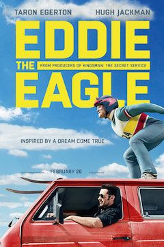 Poster for the movie Eddie the Eagle