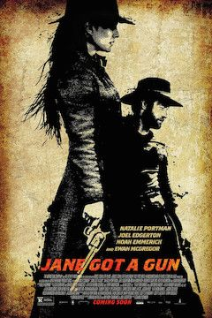 Jane Got a Gun movie poster.