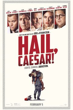 Hail, Caesar! movie poster.