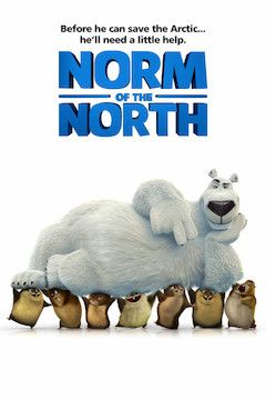 Norm of the North movie poster.